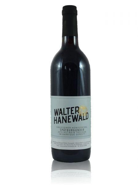 2015er Ungsteiner Honigsäckel Spätburgunder Rotwein Qualitätswein trocken -im Barrique gereift- 0,75l