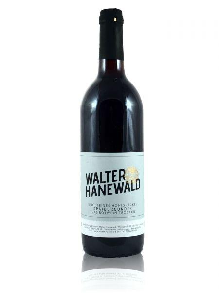 2016er Ungsteiner Honigsäckel Spätburgunder Rotwein Qualitätswein trocken 0,75l