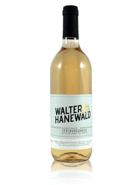 2017er Herxheimer Honigsack Spätburgunder >>blanc de noir<< Qualitätswein 0,75l