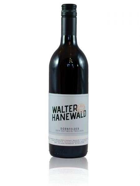 2019er  Dornfelder Rotwein Qualitätswein trocken 0,75l