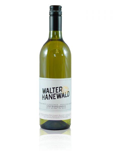 2019er Herxheimer Honigsack Spätburgunder >>blanc de noir<< Qualitätswein 0,75l